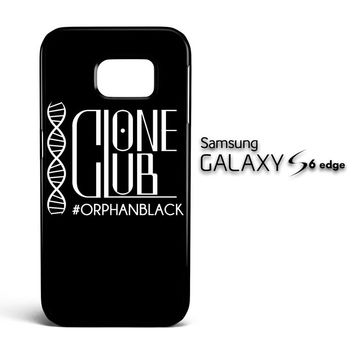 Clone Club Logo Orphan Black A0540 Samsung Galaxy S6 Edge Case