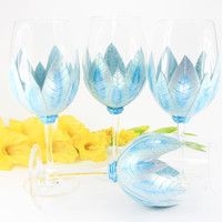 Special Order for Carloyn, Set of 4 Wine Glasses