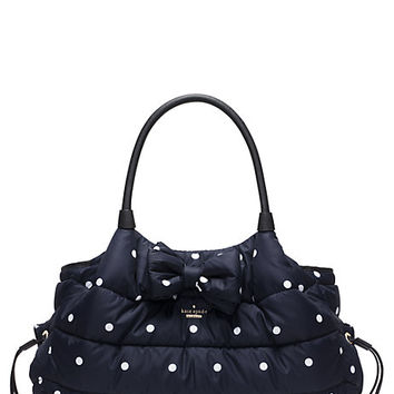 Kate Spade Colby Court Stevie Baby Bag Rich Navy/Ballerina Pink ONE