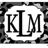 Personalized Car Tag License Plate Leopard Cheetah Any Color Animal Print - Monogrammed Name Initials Car Teen Driver