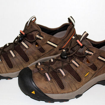 KEEN Atlanta Cool ESD Mens Steel Toe Hot Weather Shoes Sz 13