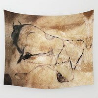 Before Picasso Wall Tapestry by anipani