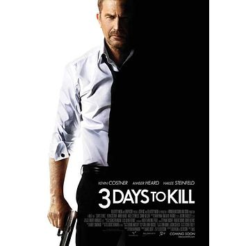 3 Days to Kill 27x40 Movie Poster (2014)