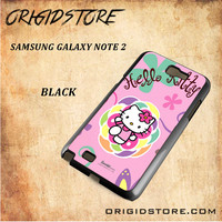 hello kitty 2 For Samsung Galaxy Note 2 Case - Gift Present Multiple Choice