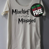 Mischief Managed Shirt Harry Potter Map Shirts TShirt T Shirt Tee Shirts - Size S M L