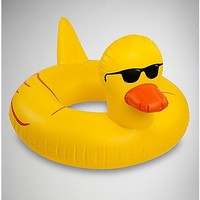 Rubber Duckie Pool Float - Spencer's