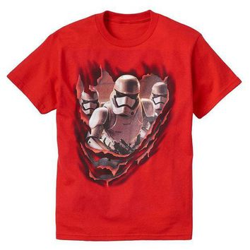ESB7GX Star Wars: Episode VII The Force Awakens Stormtroopers Tee - Boys 8-20 Size