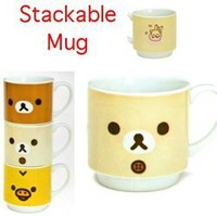 San-X Rilakkuma Stackable Mug: Little Bear