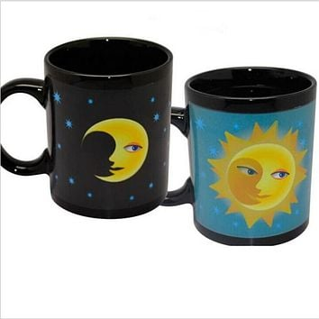 Heat Color Changing Magic Ceramic Coffee Mug