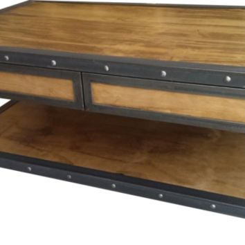 American Industrialist - Coffee Table - The Natural Choice