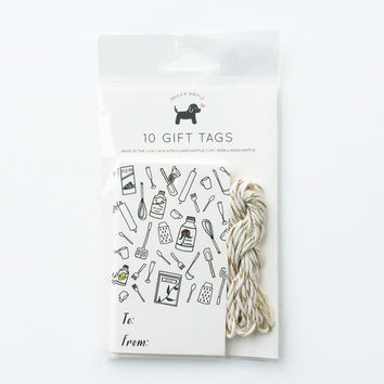 Utensils Gift Tags