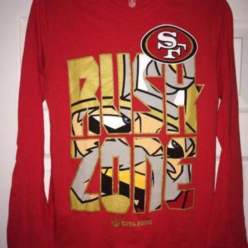 DCCK8X2 Sale!! Vintage San Francisco SF 49ers football shirt NFL youth jersey
