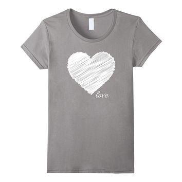 Heart Love Cute Shirt Unisex Valentines Day