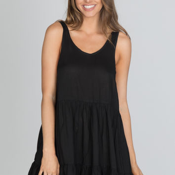 Indah - Bunny Dress | Black
