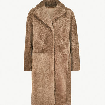 S MAX MARA Embassy shearling coat