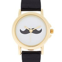 ASOS Moustache Face Watch at asos.com