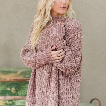 Sweet Toffee Slouchy Sweater