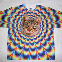 Tie Dye Cat T-Shirt | I'm Shmacked Shop