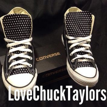 Custom Converse Chuck Taylor All Stars Polka Dot Any Size Any Color