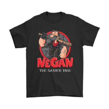 AUGUAU Popeye Negan The Savior Man The Walking Dead Shirts