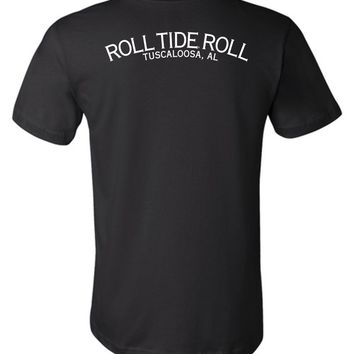 Official NCAA Venley University of Alabama Crimson Tide UA ROLL TIDE! Tuscaloosa Unisex T-Shirt - 35AL-9