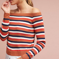 Bonnie Off-The-Shoulder Pullover