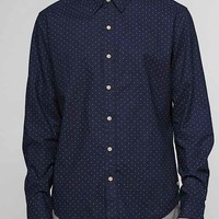 Your Neighbors Billie Polka Dot Shirt - Navy