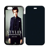 Harry Style Sine 1994 One Direction iPhone 6 Flip Case Sintawaty.com