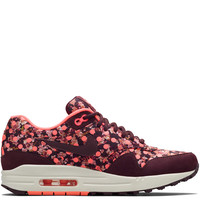 Nike x Liberty Burgundy Belmont Ivy Liberty Print Air Max 1 Trainers | Shoes by Nike x Liberty | Liberty.co.uk