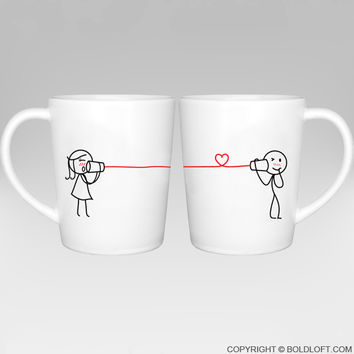 Say I Love You Too™ Couple Coffee Mugs