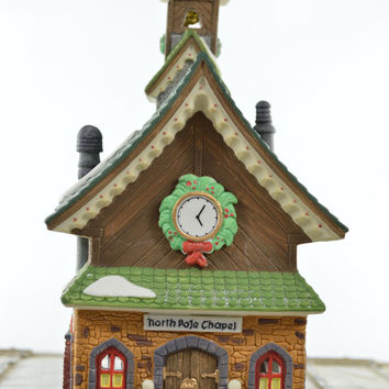 Department 56 Heritage Village Collection North Pole Chapel