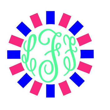 Monogram Decal Add Personality to Christmas Gifts, Great personal Gift, Gift Wrap Option, Personalize So Many Things