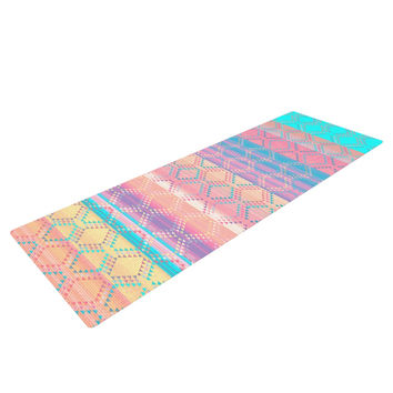 "Nina May ""Denin & Diam New Mexico"" Pastel Yoga Mat"