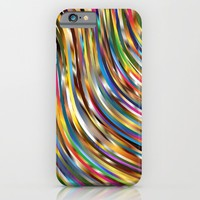 Rainbow waves - for iphone iPhone & iPod Case by Simone Morana Cyla