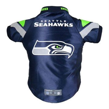 LMFON Seattle Seahawks Pet Premium Jersey