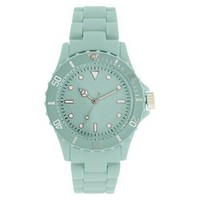 Xhilaration® Women's Round Bracelet Watch - Mint