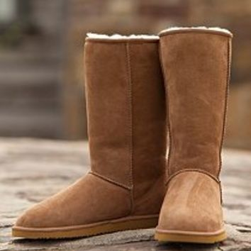Sam's Club Mobile - Cozie Steps Tall Classic 100% Genuine Sheepskin Boot - (Assorted Colors)