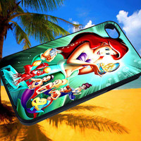 ariel mermaid custom case for iPad mini and iPad 2/3/4 and samsung and Blackberry and for  all custom phone case