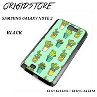 Cactus For Samsung Galaxy Note 2 Case Please Make Sure Your Device With Message Case UY