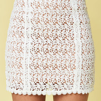 Kendall & Kylie Lace Mini Skirt at PacSun.com