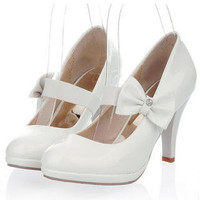 YESSTYLE: Smoothie- Convertible Bow-Accent Pumps - Free International Shipping on orders over $150