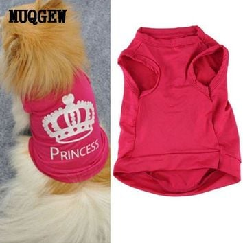 VONFC9 Dog Clothes For Small Dogs chihuahua winter clothes clothing for dog vest girl Princess chihuahua puppy dog coat roupa cachorro