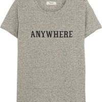 Madewell - Anywhere printed hemp and cotton-blend jersey T-shirt