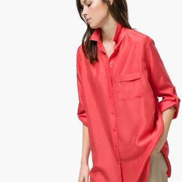 Summer Women's Fashion Cotton Blouse [6513289799]