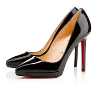 pigalle plato 120mm black patent leather