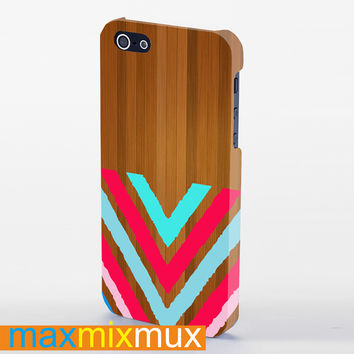 Chevron (2) iPhone 4/4S, 5/5S, 5C Series Full Wrap Case