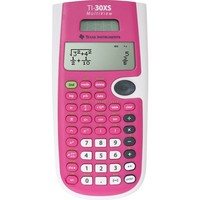 Texas Instruments® TI-30XS MultiView™ Scientific Calculator, Pink | Staples