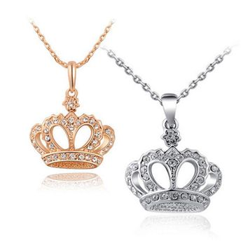 Princess Crown Necklaces