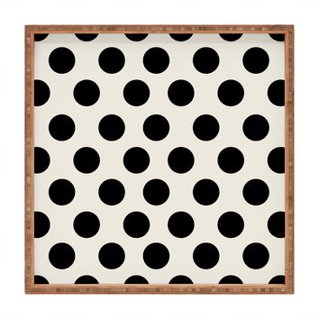 Allyson Johnson Classiest Cream Square Tray