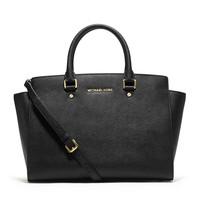 Large Selma Top-Zip Satchel - MICHAEL Michael Kors